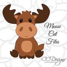 Cute Moose SVG Cut File, Woodland Theme Baby Shower and Nursery Decor, Woodland animals SVG for Cricut, Woodland Creatures, Woodland Animals, Woodland Nursery, Moose Nursery, Woodland Decor, Woodland Baby, Shower Bebe, Training Your Dog, Training Tips
