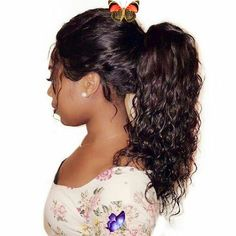 Kinky Curly Ponytail For Black Women Brazilian Natural Black Clip In Ponytails Human Hair Extensions Remy Natural Hair 120g Afro Ponytail Styles Afro  45 Classy Natural Hairstyles For Black Girls To Turn Heads  Natural Puff Women Hair Extensions Afro Kinky Curly Hair Ponytail Hairpiece Drawstring Ponytails Pieces Buns Peruca Natural Color 160g Afro Hair  61 Short Hairstyles That Black Women Can Wear All Year Long  6 Easy High Ponytail Styles On Natural Hair  80 Lovely Women Ponytail… Curly Hair Ponytail, Clip In Ponytail, Kinky Curly Hair, Curly Wigs, Natural Bun Hairstyles, Ponytail Hairstyles, Natural Hair Styles, High Ponytail Styles, Short Hair Styles