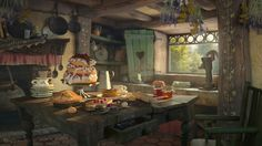"""Drawing Ideas Hansel and Gretel by Sergio Raposo Fernández - Artwork inspired in the fairy tale """"Hansel and Gretel"""". Made in Trazos Academy (Madrid). Modeling in Maya render with V-ray Hope you like it. Environment Concept, Environment Design, Fantasy House, Fantasy Art, Fantasy Rooms, Hansel Y Gretel, Modelos 3d, Nature Sounds, Interior Concept"""