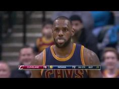 LeBron James 25 Points Highlights in the Cavs win | Cavaliers vs Pacers ...