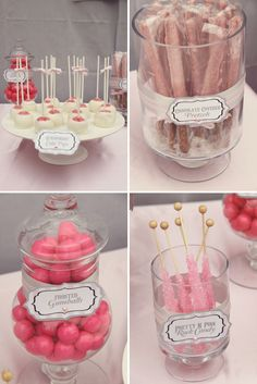 Baby Shower Treat Idea - but in blue :)