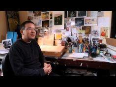 Shaun Tan invites you into his studio - YouTube