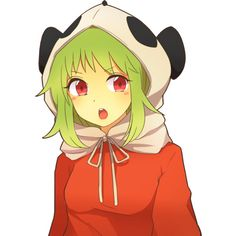 Gumi [Vocaloid] ❤ liked on Polyvore featuring anime and vocaloid