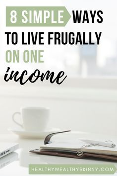 Having one income can be hard. But there are 8 simple things that you can do to help you live frugally on one income.  Learn ways to save money with these simple frugal living tips. #frugallivingtips #frugalliving #oneincome Frugal Living Tips, Frugal Tips, Frugal Meals, Money Saving Challenge, Money Saving Tips, Ways To Save Money, How To Get Money, One Income Family, Budgeting Worksheets
