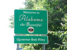 my favorite sign coming into Alabama from the Atlanta airport...... true to the core