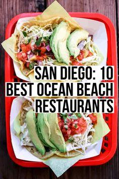 beach restaurant San Diego: 10 Best Ocean Beach Re - Mission Beach San Diego, Ocean Beach San Diego, San Diego Vacation, San Diego Travel, California Travel, California Living, Visit California, California Coast, Visit San Diego