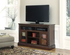 <p> North Shore TV Console with Fireplace Option</p>