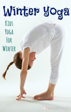 Winter Yoga For Kids, Fun Winter Yoga Poses that include the holidays that fall during the winter!  Love winter yoga! - Pink Oatmeal