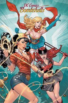 DC Comics Bombshells plakat 61 x 91 cm - Alle produkter
