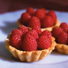 raspberry & chocolate tartlets, hmmm....maybe for valentine's day