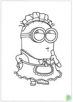Imágenes para Colorear de los Minions (14 fotos) - Imagenes y Carteles Dibujos  Para 90b212f82ab