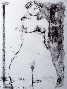 "scottbergeyart:    # 1351 ""Nude 1"" on Flickr.  http://www.ugallery.com/scott-bergey"