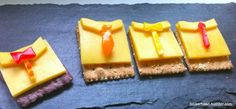 Father's Day Cheese Shirt on Crackers Recipe