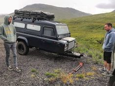 Trailer with defender Car Trailer, Camper Trailers, Folding Utility Trailer, Land Rover Series 3, Custom Campers, Expedition Vehicle, Mini Trucks, Jeep 4x4, Land Rover Defender