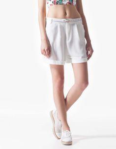 Dressy Bermuda shorts