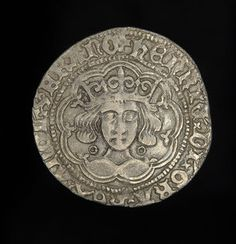 English King Henry VI Medieval Silver Groat Coin