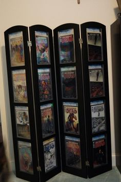 UpCycled Decoupage Custom Made Comic Book Furniture Item not