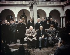 The Yalta Conference, Crimea, February 1945 TR2828 Jalta - Wiki + => http://polishgreatness.blogspot.de/2012/02/yalta-conference-secrets-lies-and.html