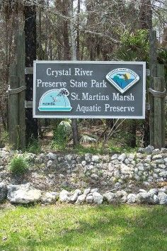 Crystal River Preserve State Park, A place of exceptional beauty