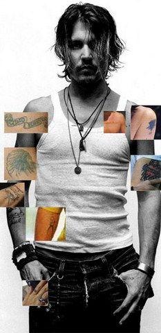 johnny depp tattoo -