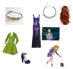 """Daphne's ball"" by gabbycarmel on Polyvore"