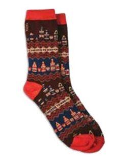 Matix Top Shelf Socks in Burgundy A5ACC028