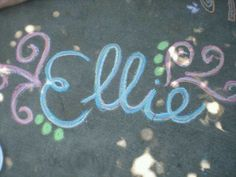 when I pray for my future child, this is the name I use. I know that's weird, but we want our little ellie girl to make our family complete. I just know we will get her one day.