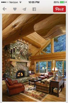 My log cabin mansion!!