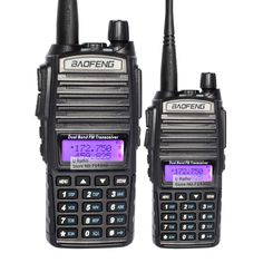 2 teile/los freies verschiffen baofeng neue uv-82 vhf/uhf 137-174/400-520 mhz doppelbandradio walkie talkie transceiver