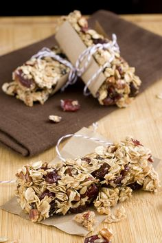 Old-fashioned Oat and Sunflower Seed Granola Bars