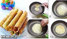 Resep Egg Roll Renyah Praktis Menggunakan Teflon