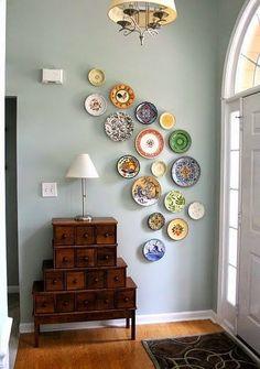 """Милые сердцу штучки: Декор интерьера: """"Настенные тарелки"""" (обзор + моя коллекция)"""