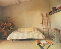 """blueberrymodern: """"converted chapel in the South of France - Maison Francais - Jean Pierre Godeaut """" Bedroom Colors, Bedroom Decor, Interior Architecture, Interior And Exterior, Tulum, Interior Decorating, Interior Design, Vintage Interiors, My Dream Home"""