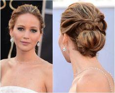 Jennifer Lawrence Hair Updo | Free Hairstyles