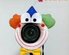 Acessório Câmera Fotográfica Palhacinho