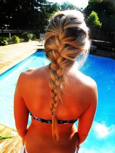 With our hairweftingtape -learn to do it yourself hair extensions you can even go swimming and not worry about your hair slipping out ... nope you can swim freely all day long!