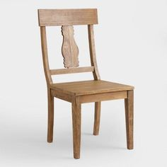 Wood Deighton Dining Chairs, Set of 2 - v1