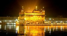 """Sri Harmandir Sahib, also Sri Darbar Sahib and informally referred to as the """"Golden Temple"""", is the holiest Gurdwara of Sikhism, located in the city of Amritsar, Punjab, India. Amritsar was founded in 1577 by the fourth Sikh guru, Guru Ram Das"""
