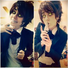 Cosplay of Bipper from Gravity Falls Cosplay Diy, Disney Cosplay, Halloween Cosplay, Best Cosplay, Cosplay Costumes, Anime Cosplay, Cosplay Ideas, Halloween Costumes, Reverse Gravity Falls