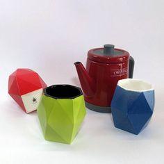 Tazza Tè e Poligoni 30cl