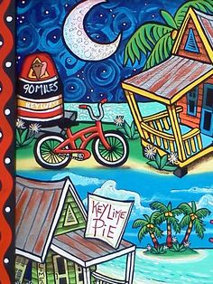 PAM HOBBS Painting, Cooking and living in the Florida Keys: Two ...
