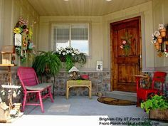 Come in (Brigham City, Utah) posted by front-porch-ideas-and-more.com