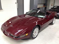 1993 Ruby Red 40th Anniversary