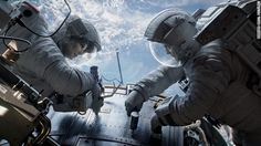 """""""Gravity"""": George Clooney and Sandra Bullock star in """"Gravity,"""" the new film from Alfonso Cuaron (""""Children of Men""""), about two astronauts who have to find a way to survive in space after a damaging accident. """"Gravity"""" debuted at the Venice Film Festival and has received glowing reviews. """"Should inspire awe among critics and audiences worldwide,"""" wrote Variety's Justin Chang in a typical rave. (October 4)"""