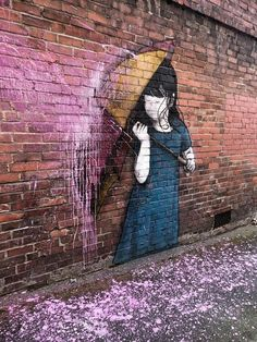 Share your graffiti and Street Art here. 3d Street Art, Urban Street Art, Best Street Art, Amazing Street Art, Street Artists, Urban Art, Amazing Art, Street Art Graffiti, Graffiti Kunst
