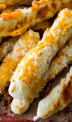 Cheesy Garlic Breadsticks.