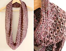 Ravelry: Broomstick lace wrap scarf pattern by Lisette Eisenga