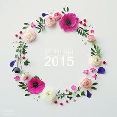 Happy new year! Art Floral, Floral Design, Love Flowers, Paper Flowers, Beautiful Flowers, Logo Fleur, Elle Rose, Crea Design, Flower Rangoli