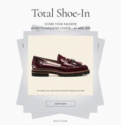 SHOP NOW Email Design, Ad Design, Logo Design, Design Ideas, Anti Fashion, Gif Fashion, Email Layout, Shoes Ads, Web Banner