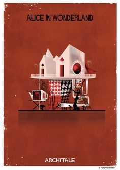 Galeria de Federico Babina traz os contos de fada à vida com a série de ilustrações ARCHITALE - 4